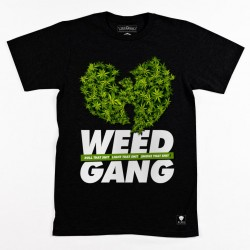 Block Limited - Weed Gang Tee - Black/GreenBudz