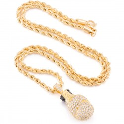 King Ice - The 14K Gold Boxing Glove Necklace