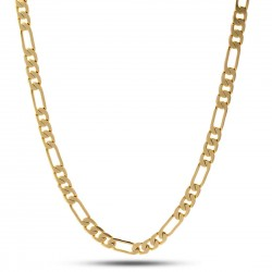 King Ice - 5mm Stainless Steel Figaro Chain