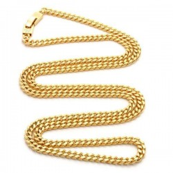 King Ice - 5mm, 14K Miami Cuban Curb Chain - 26''