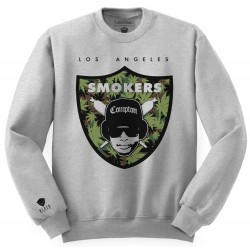 Block Limited - Smokers Crew - Grey/WeedCamo/White