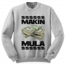 Block Limited Makin Mula Crew - Grey