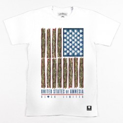 Block Limited - Amnesia State of Mind Tee - White