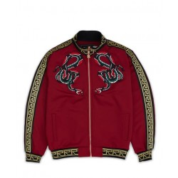 REASON - SERPENT TRACK JACKET - RED