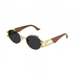 9Five Eyewear - St James - White Marble/Gold