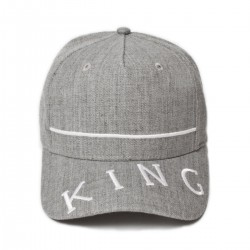 King Apparel - Leyton Curved Peak - Stone