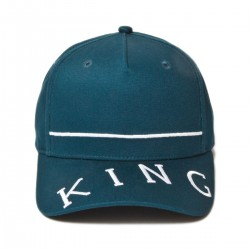 King Apparel - Leyton Curved Peak - Ink