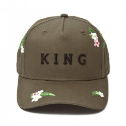 King Apparel - Stepney Curved Peak - Fern
