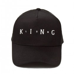 King Apparel - Aldgate Trucker- Black