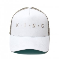 King Apparel - Aldgate Trucker- White