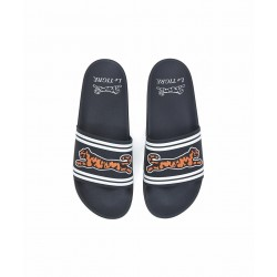 LE TIGRE - Raised Logo Slides - Black