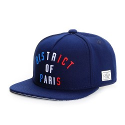 Cayler And Sons WL - District Of Paris Snapback Cap - Navy / Red / White