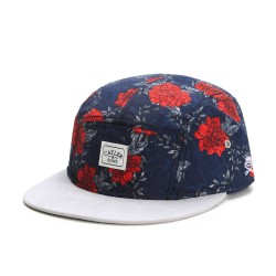 Cayler And Sons WL -  One Night 5-Panel Cap - Navy/Red/Grey