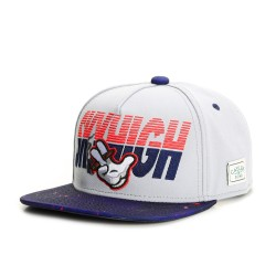 Cayler And Sons GL - Sky High Snapback Cap - Grey / Navy / Red