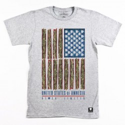 Block Limited - Amnesia State of Mind Tee - Grey