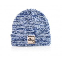 Official - Whitewash Beanie - Blue