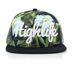 Official - Highlife Glo Snapback -  Floral Crown