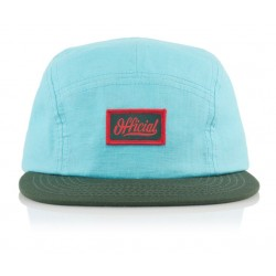 Official - Skate Pequeno 5-panel Cap - Blue/Green