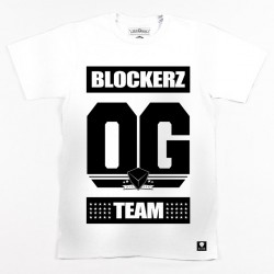 Block Limited OG Team Tee - White