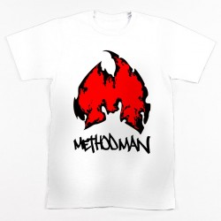 Block Custom METHOD FLAME Tee - White