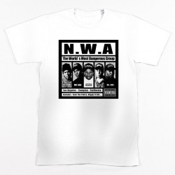 Block Custom N.W.A Tee - White