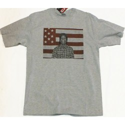 Block Custom - A$AP ROCKY FLAG Tee - Grey/Red
