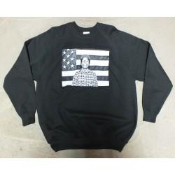 Block Custom - A$AP ROCKY FLAG Crew - Black