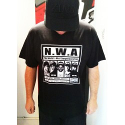 Block Custom - N.W.A TEE - Black