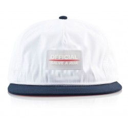Official - Tx Quickdry Snapback - White/Navy