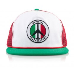 Official - JT Peacekeeper Mx Cap - White/Green/Red