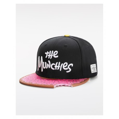 Cayler And Sons GL - Munchies Classic Cap - Black /Pink donut