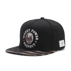 Cayler&Sons WL - Money Power Respect Cap - Black/Gold/White