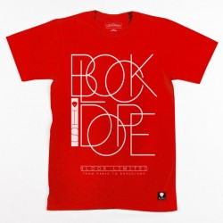 Block Limited - Block Is Dope Tee - Red/White