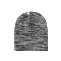 Cayler&Sons BL - PATCHED SLOUCH Beanie - Black/Grey Knit