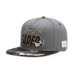 Cayler&Sons GL - I'm Faded Cap - Dark Grey/Black/Gold