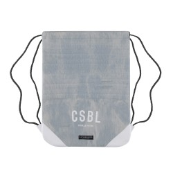 Cayler&Sons BL - MOTO GYMBAG - Light blue denim/White