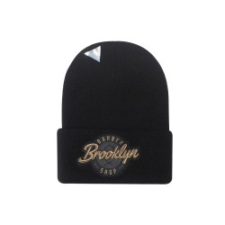 Cayler&Sons CL - BK Barber Old School Beanie - Black/Gold