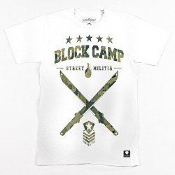 Block Limited - Block Camp Tee - White/Camo