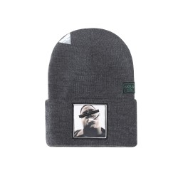Cayler&Sons GL - Bedstuy Old School Beanie - Grey/White/Mc