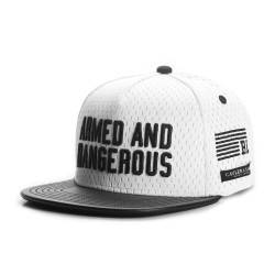 Cayler&Sons BL - ARMED N' DANGEROUS Cap - White/Black