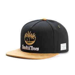 Cayler&Sons GL - Smokin' Trees Cap - Black/Honey/White