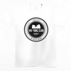 Block Custom - WU NYC CIRCLE Tee - white