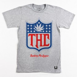 Block Limited - THC Tee - Heather Grey