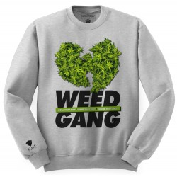 Block Limited - WeedGang Crew - Grey/Green