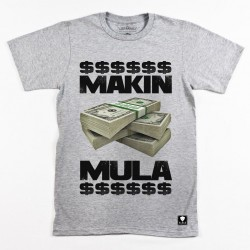 Block Limited Makin Mula Tee - Grey