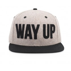 Official - WAY UP-Grey/Black