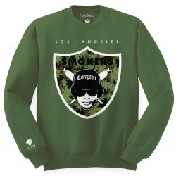 Block Limited - Smokers Crew - Green/WeedCamo/White