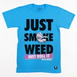 Block Limited - Just SmokeTee - Aqua